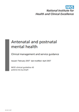 Antenatal and Postnatal NICE Guidance CG451.pdf